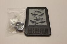 Amazon Kindle Keyboard 4GB   Wi-Fi & 3G Gray (D00901)