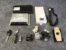 E60 BMW 5 SERIES 530i - M54 B30 ENGINE EWS DME CAS2 IGNITION LOCK KEY ECU SET