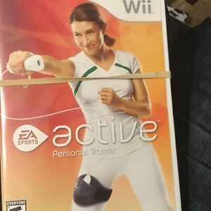 Wii Active Personal Trainer (Nintendo Wii) & Leg Strap Resistant Strap