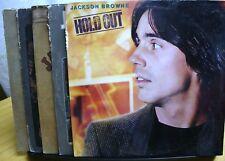 5 VINYL RECORD ALBUM COLLECTION LOT JACKSON BROWN EVERYMAN RUNNING PRETENDER ETC