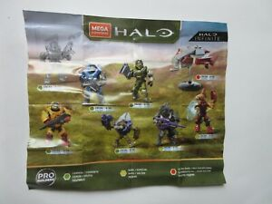 Mega Construx Halo Infinite Series 1 & 2 - Complete your Collection