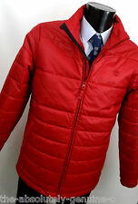 TIMBERLAND Red Padded / Quilted but not bulky Jacket Size S BNWT
