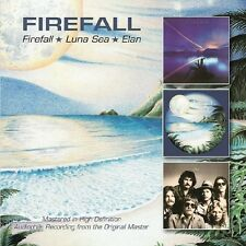 Firefall - Firefall / Luna Sea / Elan [New CD] UK - Import