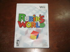 Rubik's World (Nintendo Wii) - Game and Box in Great Condition!