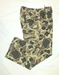 ::>   COLUMBIA  ~  Mens  WIND / RAIN CAMO  Pants ~ Sz L ~ NEW CONDITION