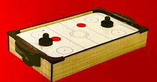 """TABLETOP AIR HOCKEY 20"""" x 12"""" Paddles Pucks Office Or Home..Holiday Time"""