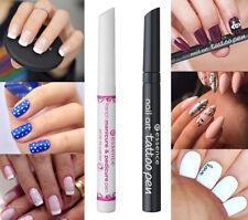 3x French Manicure Pen White or Tattoo Pen Black Nail Polish Art NEW