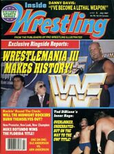 HULK HOGAN/ANDRE THE GIANT Inside Wrestling Magazine July 1987 WRESTLEMANIA III