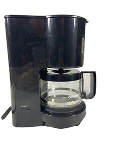 Cuisinart 4-Cup Coffee Maker Mod WCM04B, Glass Carafe, Camping Or Dormitory Size