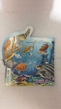 Blocs de 4 timbres sur les tortues de Nouvelle Calédonie.Neuf**