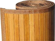 hb3. Hochwertige BAMBUS Teppich  ca.190 x 190 cm.  Farbe HELL BRAUN