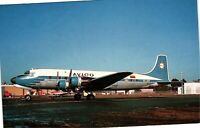 Vintage Postcard - Airplanes & Air crafts - McDouglas DC-6 HC-APF 1969 FL #4348