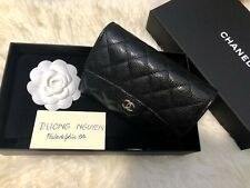 Chanel Classic Clutch with Chain with Black Iridescent Caviar and SHW