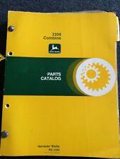 John Deere Parts Catalog 3300 Combine With 215 Platform Manual Pc-1163
