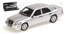 Brabus 6 5 V8 - 1993 Mercedes 500e W124 Argento metallico 1 43 Minichamps