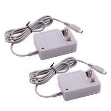 2 X AC Home Wall Travel Charger Power Adapter Cord For Nintendo DSi NDSi 3DS XL