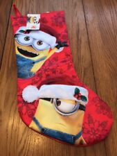 Despicable Me Minion Made Christmas Stocking Ships N 24h