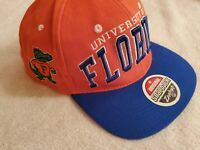 Florida Gators Original Snapback Hat Zephyr Embroidered University of Florida