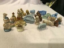 Wade Figurines: Lot of 24. Nursery Rhyme, Circus, Misc. Perfect Condition