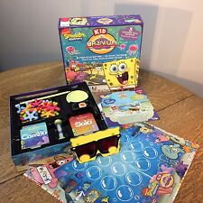 Cranium SpongeBob Squarepants Limited Edition Kid's Game Age 7+ 2009 Complete