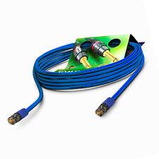 Sommer Cable 7,5m 12G 6G 3G SDI Kabel 6K 4K UHD Neutrik BNC blau | VTGX-0750-BL