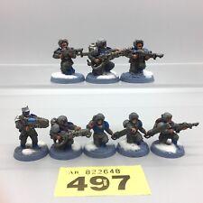 Warhammer 40,000 Garde Impériale Astra Militarum Cadian valhallan neige peint