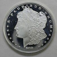 Sunshine Mint Morgan Design 1 Troy Oz .999 Fine Silver Round Mint Mark SI