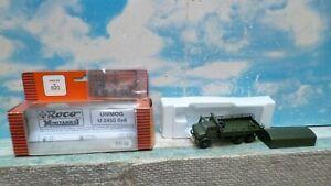 Roco - minitanks : Camion militaire Unimog  6 X 6  ech ho 1/87 ref : 620.