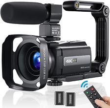 4K Video Camera Camcorder Ultra HD 4K 60FPS 48MP YouTube Camera Digital Vlogging