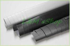 Película de envoltura de vinilo Coche de Aluminio Cepillado burbuja de aire libre de Plata 30cm X 1.52m