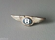 Bentley Logo Green Label Argent 925 Pin 23x7mm [2058]