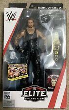 WWE Wrestling Mattel Elite Series 55 UNDERTAKER MIP!!