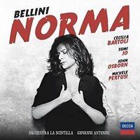 CECILIA BARTOLI - BELLINI: NORMA  2 CD NEW! BELLINI,VINCENZO