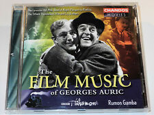 THE FILM MUSIC OF GEORGES AURIC THE LAVENDER HILL MOB MOULIN ROUGE CD (VG+)