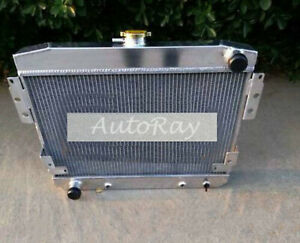 62MM 3ROW Alloy Radiator For Ford Mustang II V8 5.0L 302 1974-1978 75 76 77 Auto