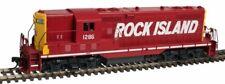 ESCALA H0 - Atlas Locomotora diésel GP7 ROCK ISLAND 10002021 NEU