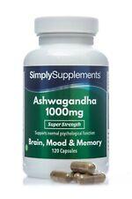 Ashwagandha 1000 mg - 120 Gélules