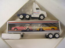 Winross Frederick New & Used Cars Lebanon PA Clear w/ Corvettes In Trailer MIB