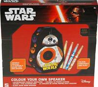 Star Wars Colour And Make Your Own Speaker - BB8