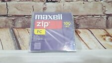 1- MAXELL 100MB ZIP Disc - Sealed - PC Version