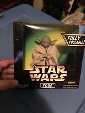 "1997 Star Wars Action Collection YODA For Scale of 12"" Inch Figure NIB"