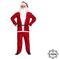 Valeur garçons Santa Costume 5 pièce Noël Noël Costume Déguisement 5-6 Ans