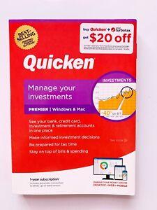 Quicken Premier Personal Finance - 1-Year Subscription (Windows/Mac) *NEW