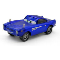 Cars Toys Metallic Blue Finn McMissile Diecast Toy Car 1:55 Loose Kids Vehicle