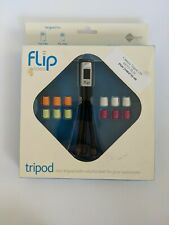 NEW Flip Video Tripod Mini for Camcorder Model ATR1B Five Changeable Feet Colors