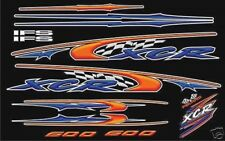 POLARIS INDY XCR 600 HOOD DECALS   graphics shroud 440
