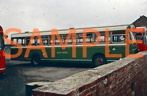 35mm bus slide West Riding Bristol RE / ECW THL 259 H 259 anniversary livery