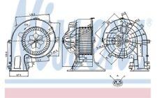 NISSENS Ventilador habitáculo SAAB 9-3 9-3X FIAT CROMA OPEL VECTRA SIGNUM 87025