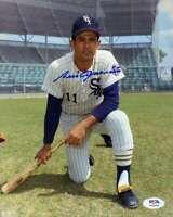 Luis Aparicio PSA DNA Coa Hand Signed 8x10 Photo Autograph