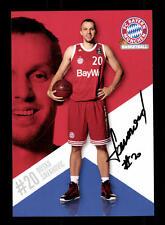 Dusan Savanovic Autogrammkarte Bayern München Original Sign Basketball+A 164040